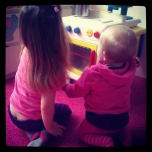 Ze kunnen zo lekker samen spelen soms