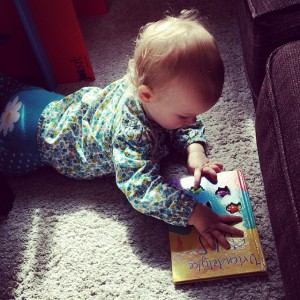 Lekker boekje lezen.