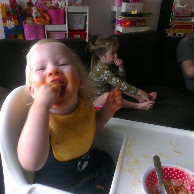 Spaghetti monster!