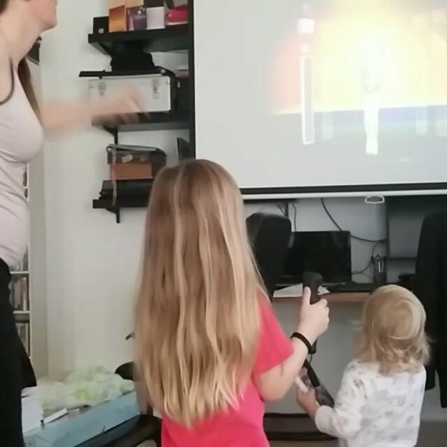 Filmpje: dansen op de Wii
