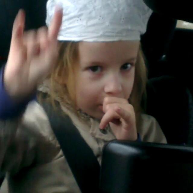 Filmpje : rocken in de auto