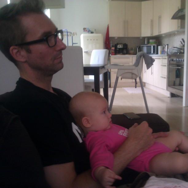 F1 kwalificatie kijken met papa