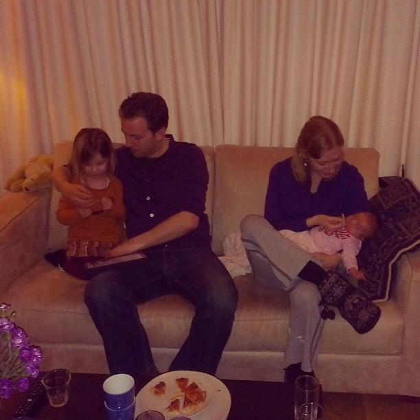 Martijn en Minke met onze kids.